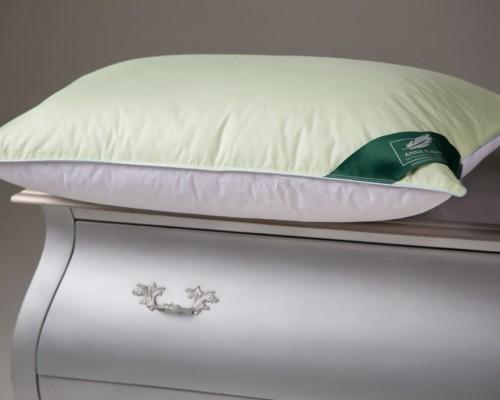 Подушка Flaum Rogenbogen 50x70 средней упругости мятно-белая