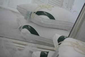 Подушка Flaum Perle 70x70 упругая 3-х камерная
